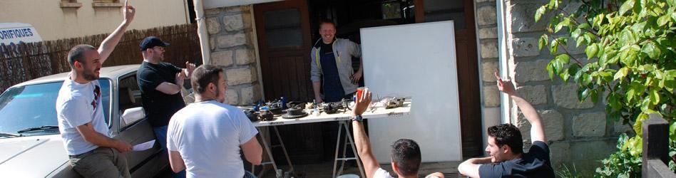 Atelier mécanique chez Reskoos