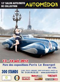 Affiche du salon Automdon 2012 ou Reskoos aura son stand