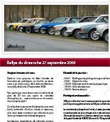 Rallye autour de la forêt de Montmorency