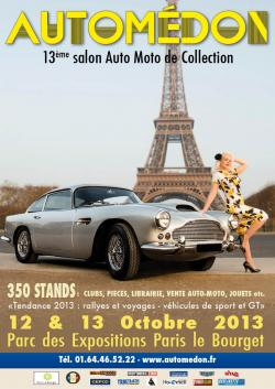 Affiche du salon Automédon 2013 ou Reskoos aura son stand