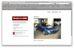 Impression d'écran du site bonjourlavieille.com