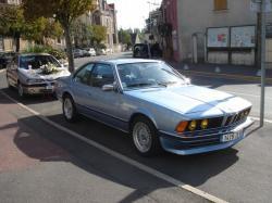 bmw 633 csi 1977 bleue