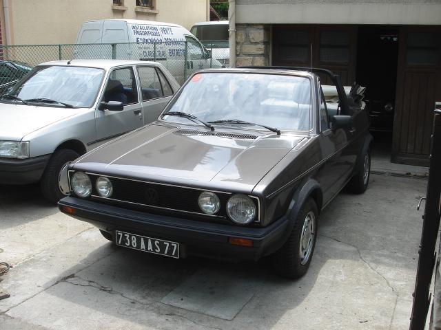 Golf 1 cabriolet 1800