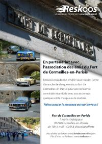 Flyer des rencontres au Fort de Cormeilles